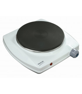 SCP 1500 ELECTRIC SINGLE HOTPLATE WHITE SENCOR
