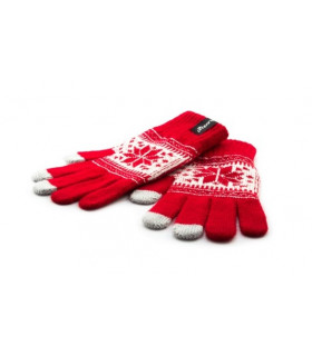 Touch Screen Gloves-Red